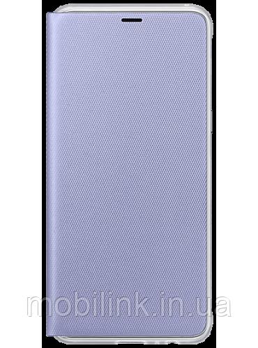 Чехол Samsung Neon Flip Cover Orchid Gray для Galaxy А8 (2018) A530