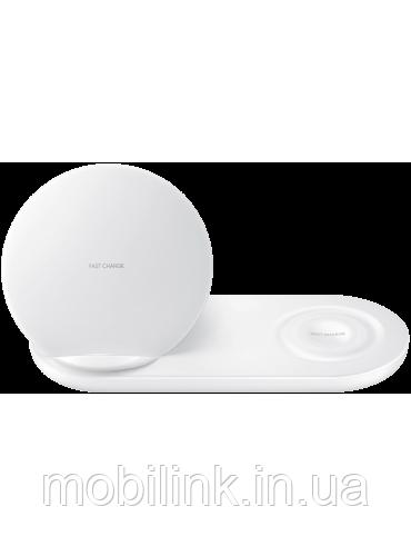Беспроводное зарядное устройство Samsung Wireless Charger Duo EP-N6100 White