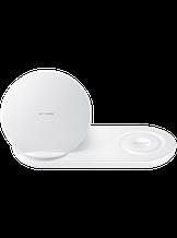 Бездротове зарядний пристрій Samsung Wireless Charger Duo EP-N6100 White