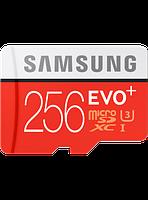 Карта памяти Samsung microSDXC 256GB EVO Plus Class 10 UHS-I U3 (MB-MC256DA/APC)