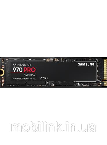 SSD накопитель Samsung 970 PRO 512GB M.2 PCIe 3.0 4x (MZ-V7P512BW)