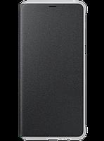 Чехол Samsung Neon Flip Cover Black для Galaxy А8+ (2018) A730, фото 1