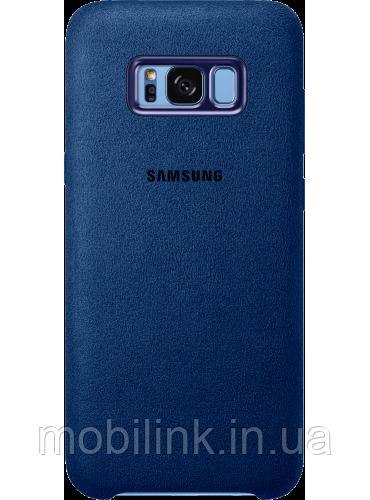 Чехол Samsung Alcantara Cover EF-XG955ALEGRU Blue для Galaxy S8+ G955