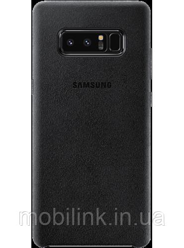 Чехол Samsung Alcantara Cover EF-XN950ABEGRU Black для Galaxy Note 8 N950