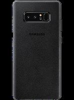 Чехол Samsung Alcantara Cover EF-XN950ABEGRU Black для Galaxy Note 8 N950, фото 1