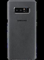 Чехол Samsung Alcantara Cover EF-XN950AJEGRU Dark Gray для Galaxy Note 8 N950, фото 1
