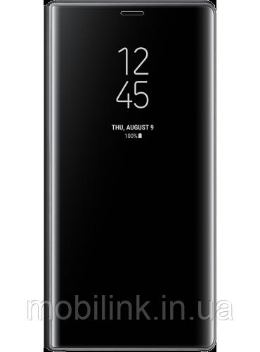 Чехол Samsung Clear View Standing Cover Black для Galaxy Note 9 N960