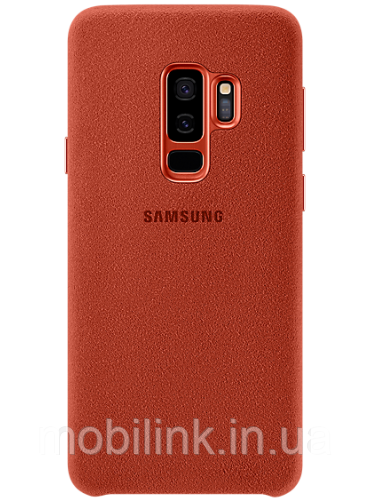 Чехол Samsung Alcantara Cover Red для Galaxy S9+ G965