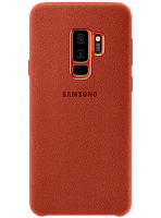 Чехол Samsung Alcantara Cover Red для Galaxy S9+ G965, фото 1
