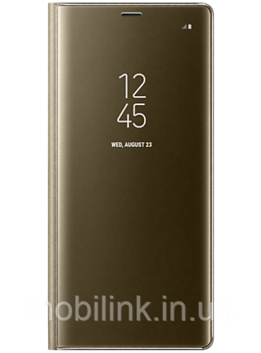 Чехол Samsung Clear View Standing Cover EF-ZN950CFEGRU Gold для Galaxy Note 8 N950