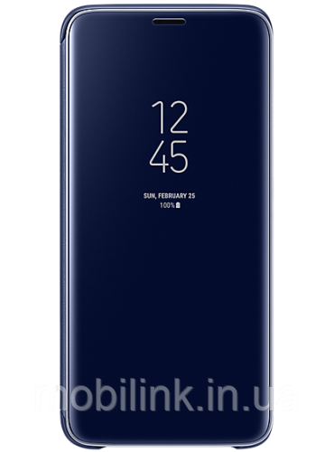 Чехол Samsung Clear View Standing Cover Blue для Galaxy S9 G960