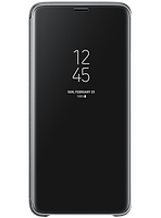 Чехол Samsung Clear View Standing Cover Black для Galaxy S9+ G965, фото 1