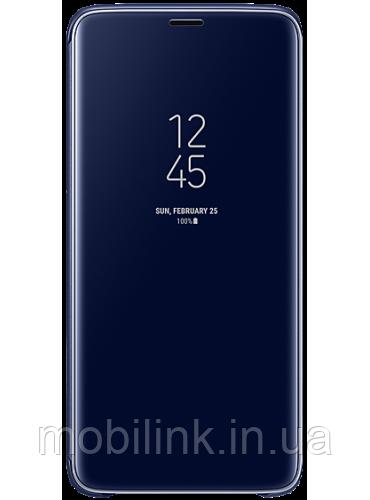 Чехол Samsung Clear View Standing Cover Blue для Galaxy S9+ G965