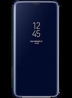 Чехол Samsung Clear View Standing Cover Blue для Galaxy S9+ G965, фото 1