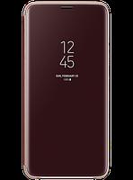 Чехол Samsung Clear View Standing Cover Gold для Galaxy S9+ G965, фото 1