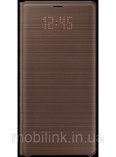 Чехол Samsung LED View Cover Brown для Galaxy Note 9 N960