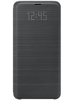 Чехол Samsung LED View Cover Black для Galaxy S9+ G965, фото 1