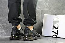 Мужские кроссовки Nike Air Max 270 сетка,черные 45р, фото 3