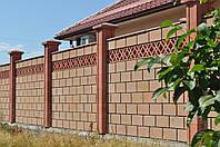 Заборный блок декоративный.