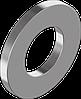 Шайба плоская из нержавеющей стали А2 DIN 125