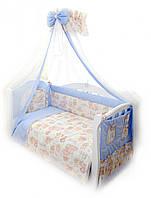 Детская постель Twins Comfort С-015 Пушистые мишки + БЕСПЛАТНАЯ ДОСТАВКА