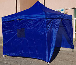 Стенка для шатра с окнами и змейками L-12 м