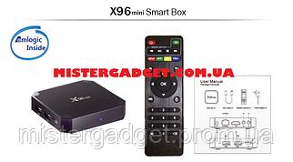 ТВ-приставка X96 mini S905W з аэропультом C120