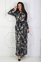 Теплое женское платье 44-46-48 р