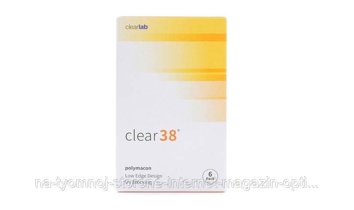 Линза контактная Clear 38, фото 2