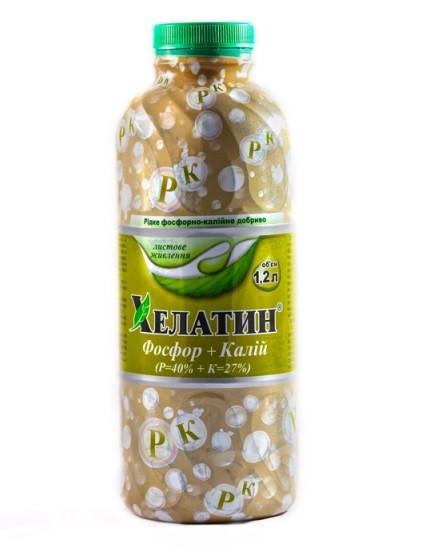 Хелатин Фосфор-Калий - микроудобрение, 1.2 литра