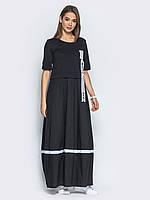 Чорне плаття в категории платья женские в Украине. Сравнить цены ... 2f3b0c5e2e523
