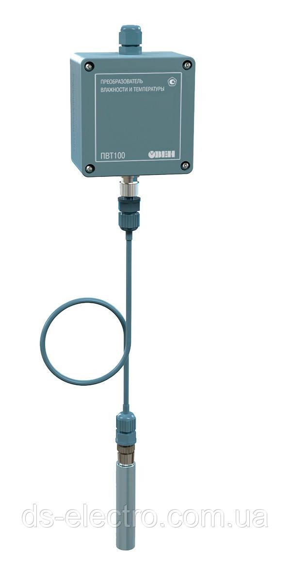 Промышленный датчик (преобразователь) влажности и температуры воздуха