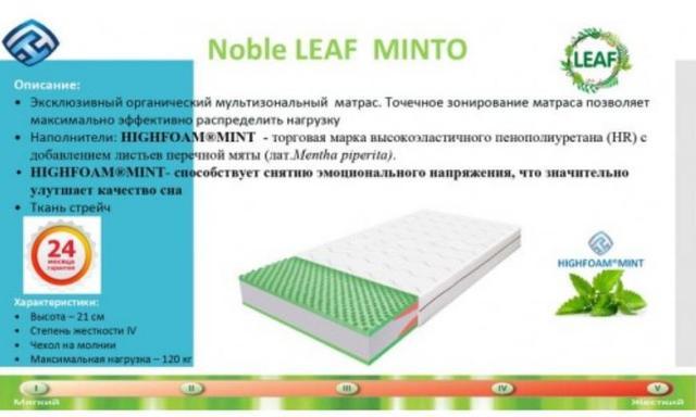 Матрас Noble Leaf Minto (фото 2)