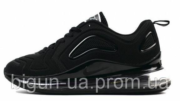 618119f0 Женские кроссовки Nike Air Max 720 Black (найк аир макс 720, черные ...