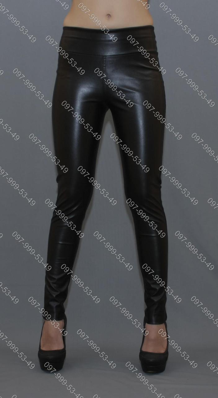 Модные кожаные лосини высокого качества