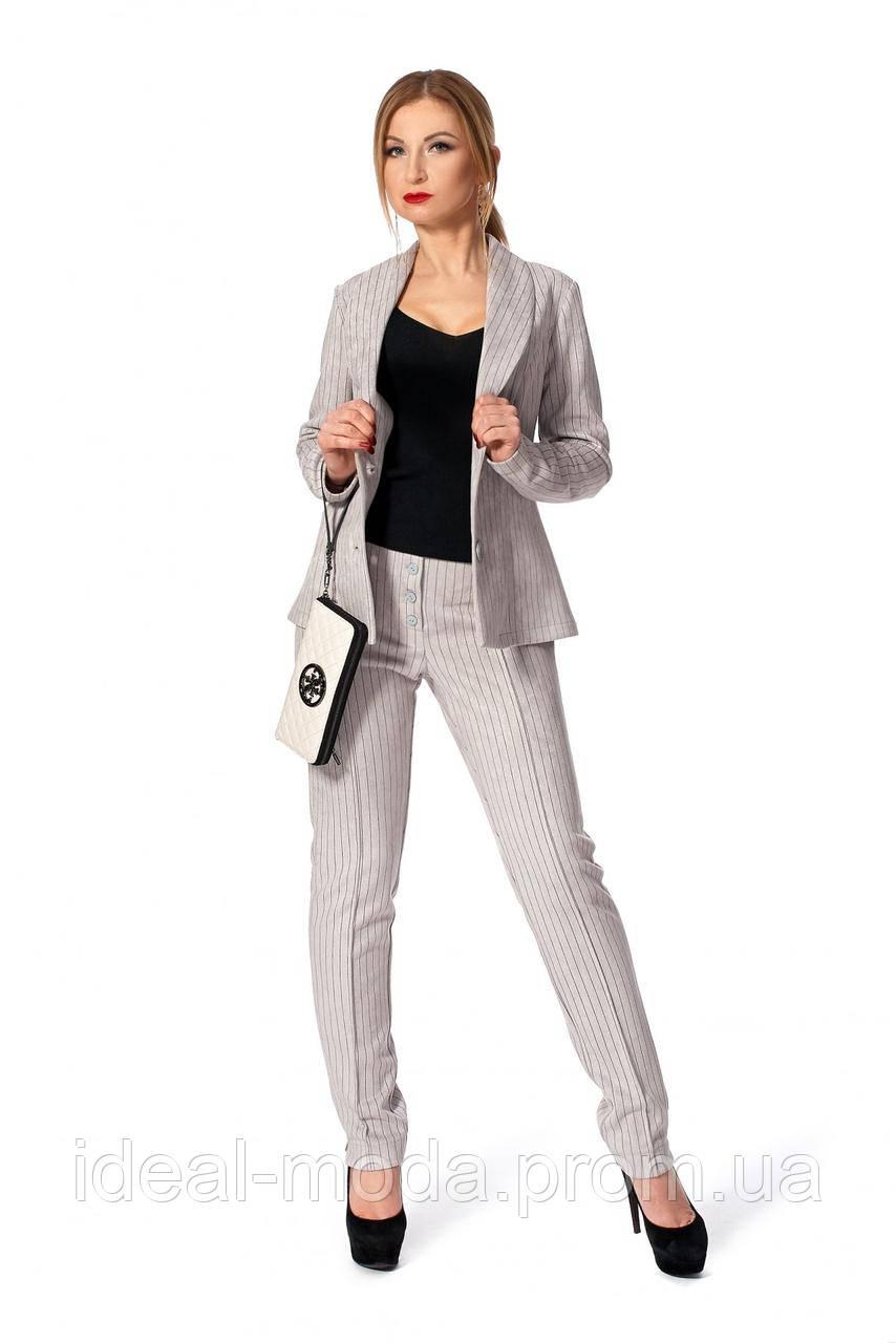 0457eb3f5f03 Офисный костюм двойка пиджак и брюки Катя: продажа, цена в ...