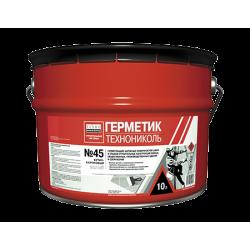 Герметик бутил-каучуковый ТЕХНОНИКОЛЬ № 45 (8 кг) (серый)