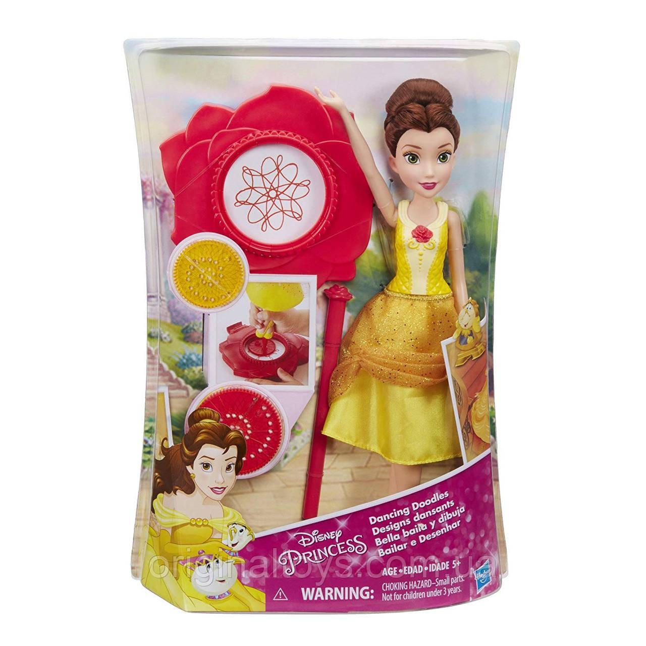 Кукла Танцующая принцесса Белль Disney Princess Hasbro Dancing Doodles Belle