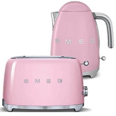 Комплект электрический чайник Smeg 1,7 л KLF03P + тостер Smeg TSF01