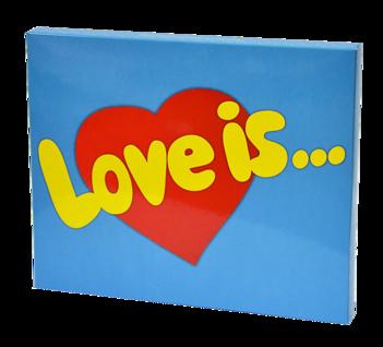 Шоколадный набор Love is 20 шоколадок