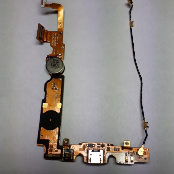 Шлейф LG P710 Optimus L7 P713 с коспонентами б/у оригинал