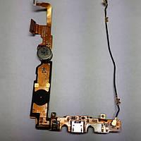 Шлейф LG P710 Optimus L7 P713 с коспонентами б/у оригинал, фото 1