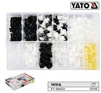 Набір кріплення обшивки салону PEUGEOT YATO Польща 345 штук YT-06653