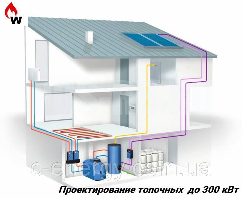 Проектирование топочных  до 200 кВт, фото 1