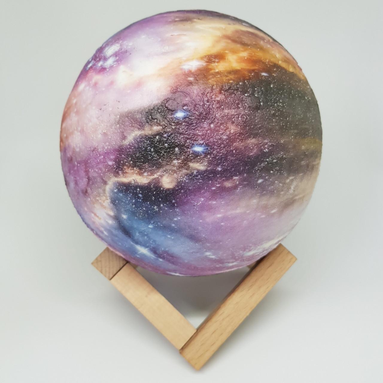 Романтический  Светильник ночник Luna (Led RGB) диаметр 15 см
