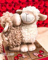 Статуэтка из керамики и ткани «Люблю тебя» , фото 1