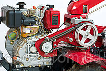 Мотоблок WEIMA (вейма) WM610E, диз. 6л.с., электростартер, 6 скор.вперед, 4,00-8 (КИПОР), фото 2