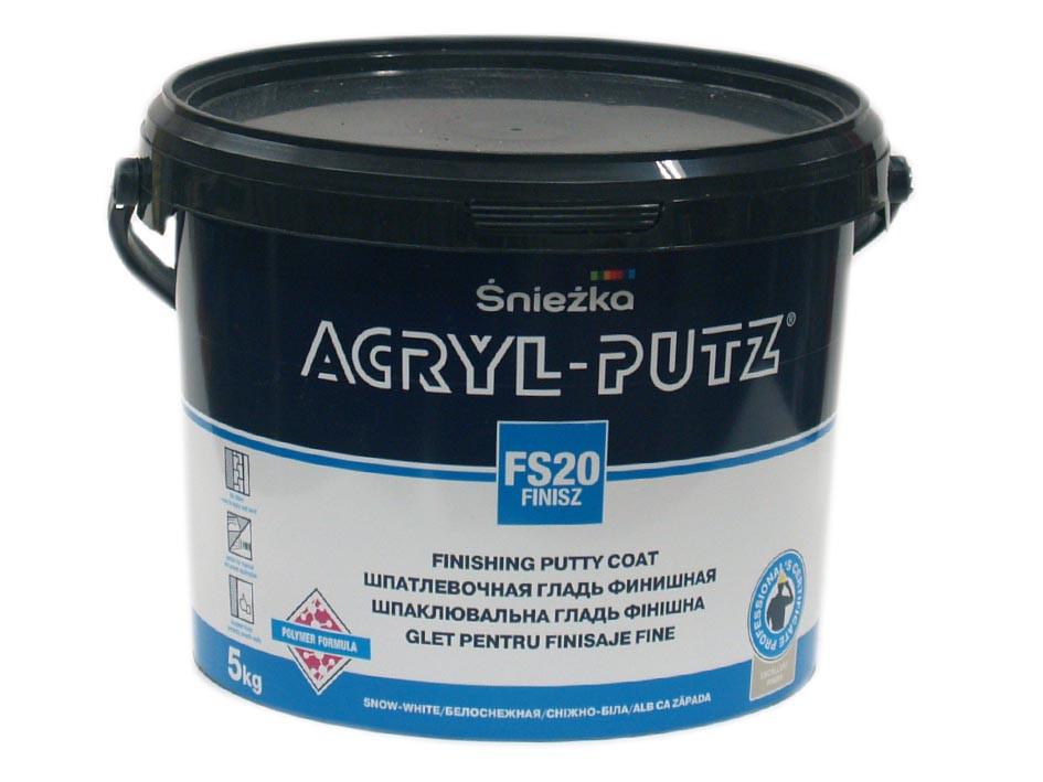 Шпаклевка ACRYL-PUTZ финишная 17 кг