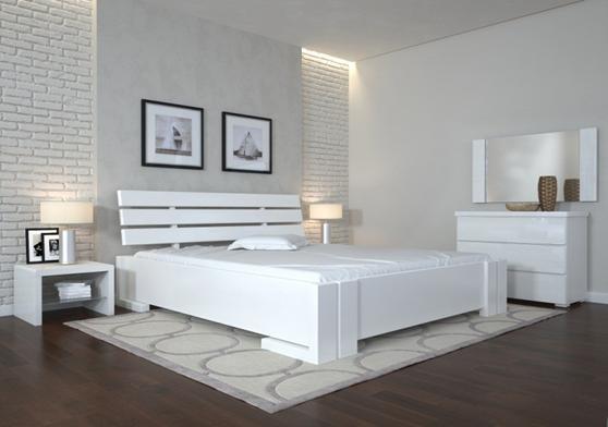 Деревянная кровать из массива дерева- Домино, 1,2*2