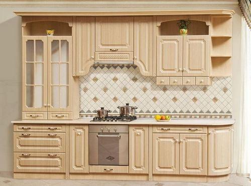 Кухня Валенсия Клён фото из каталога
